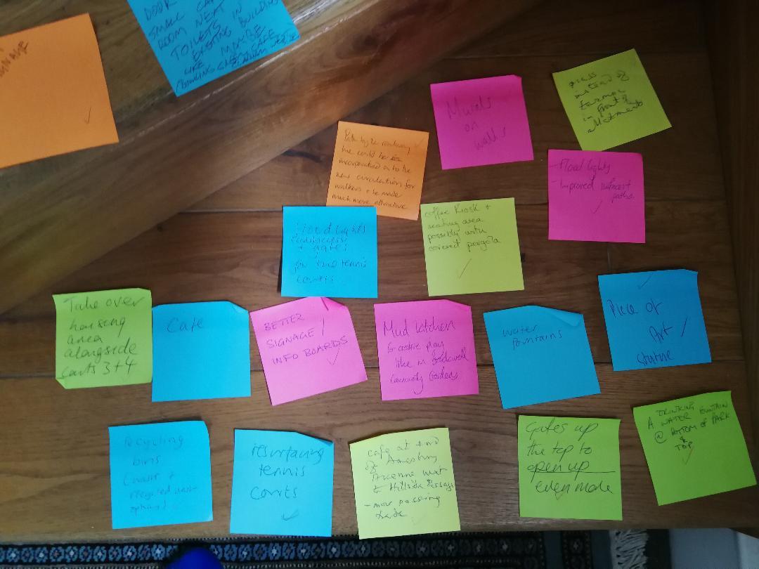 Ideas for park 2
